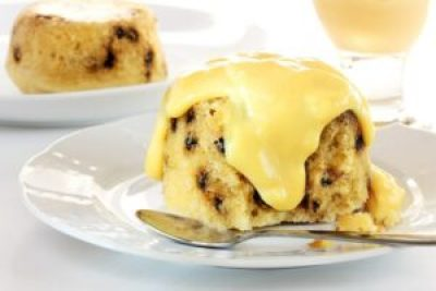 Spotted Dick Sponge Pudding recipe Instant Pot