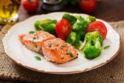 Salmon & Broccoli Insta Pot recipe