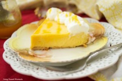 Passion Fruit Pie recipe made in Instant Pot