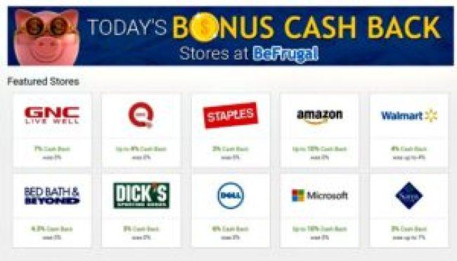 earn bonus cash at cash back site