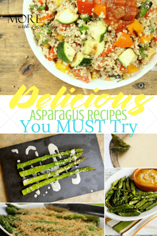 Are you looking for a new way to serve asparagus? We found delicious asparagus recipes you must try, from top food bloggers.
