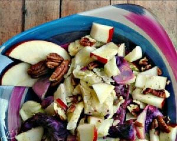 Roasted cabbage salad recipe