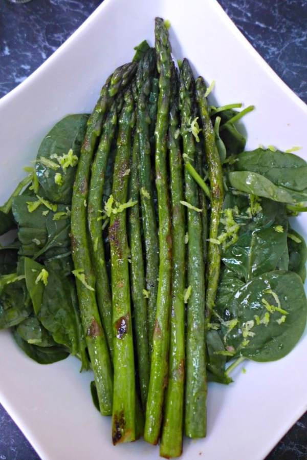 Lemon and Asparagus Salad recipe