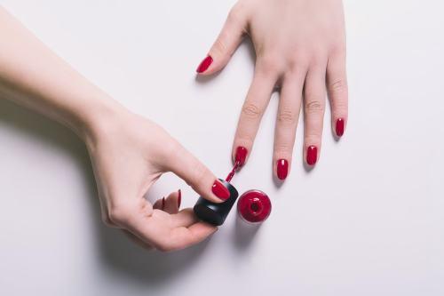 nail polish hacks baby oil