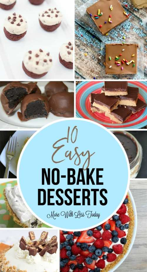 10 Easy No-Bake Desserts – No Need to Turn on the Oven!