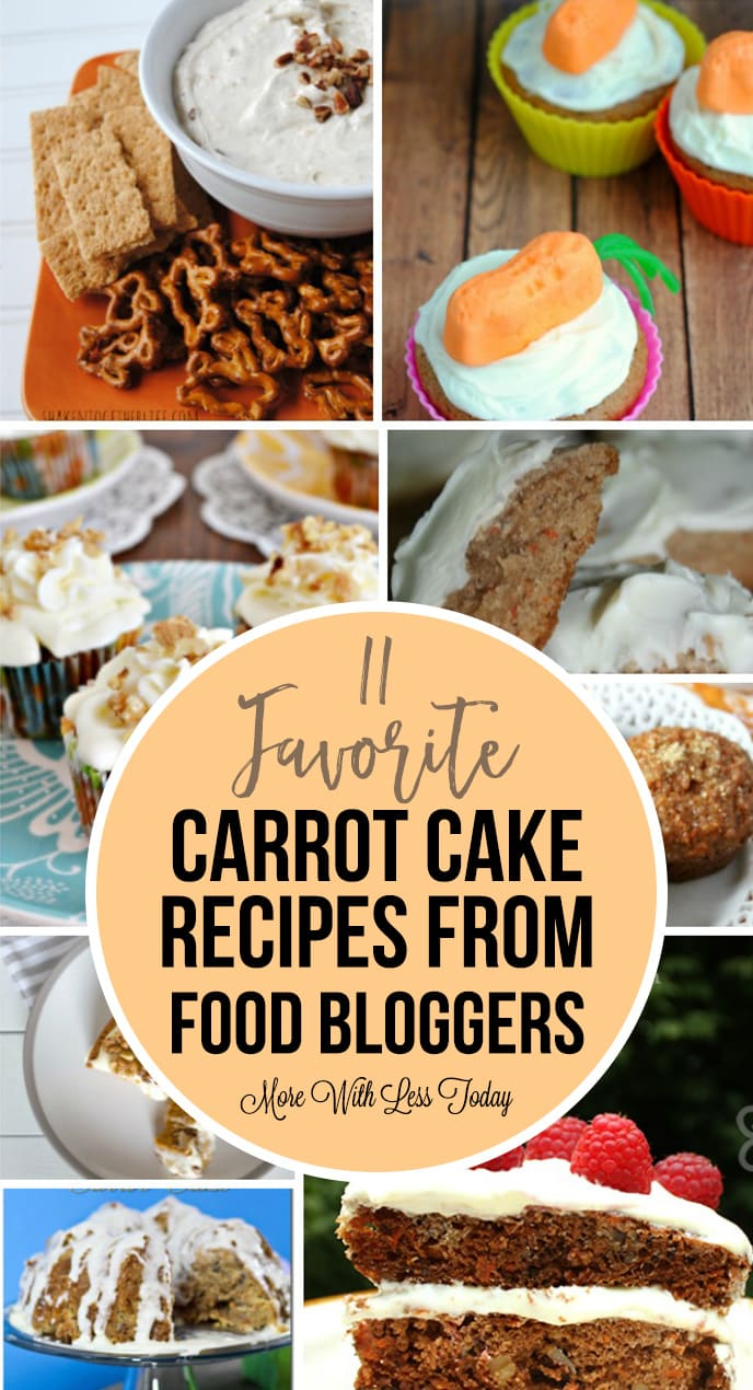 11 favorite carrot cake recipes from food blogs be sure and visit the sites of these great cooks and be sure and let us know your favorite carrot cake recipe do you have a secret ingredient or a tip for forumfinder Gallery