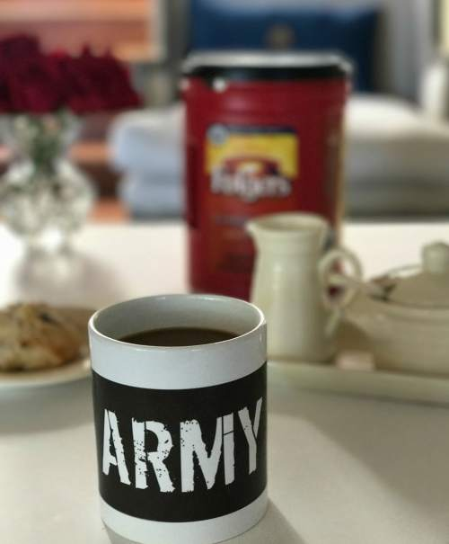 Folgers Share a Cup and a Story With the Veteran Next Door. See how I honored my dad and grandfather this Veterans Day with the help of Folgers.