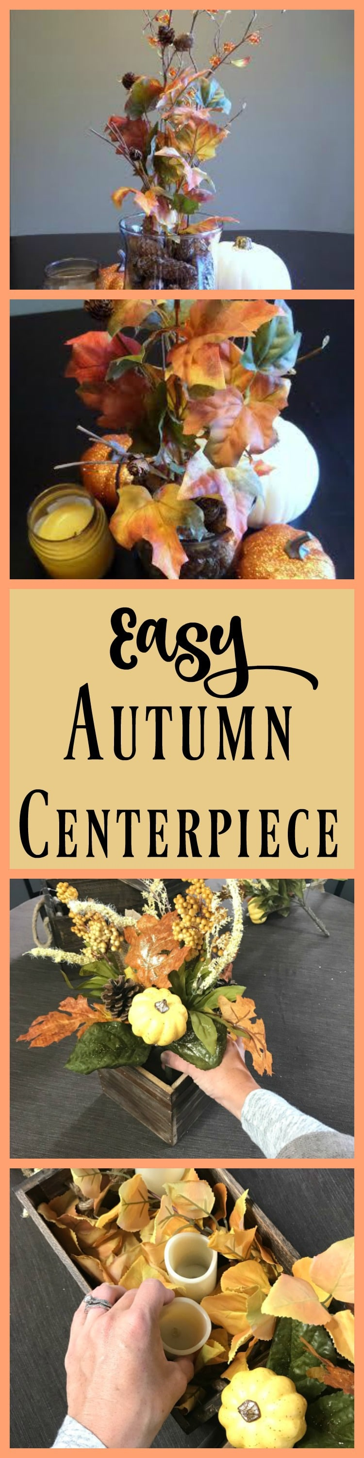 Easy Autumn Centerpiece Ideas