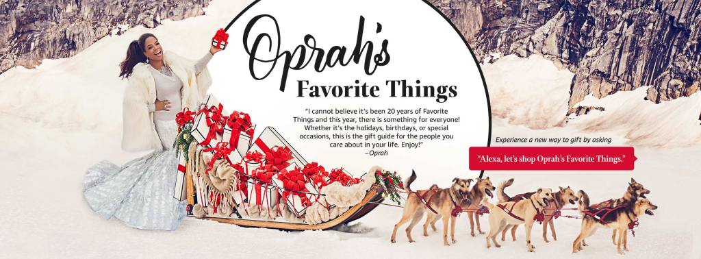 Look no further for your holiday gifts! We are sharing Oprah's Favorite Things for 2017 - These Make the Best Gifts! Which ones are your favorite this year?