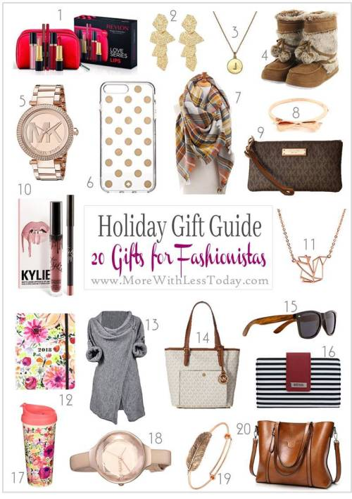 Fashionista Gifts: Holiday Gift Guide 20 Gifts for Fashion Lovers