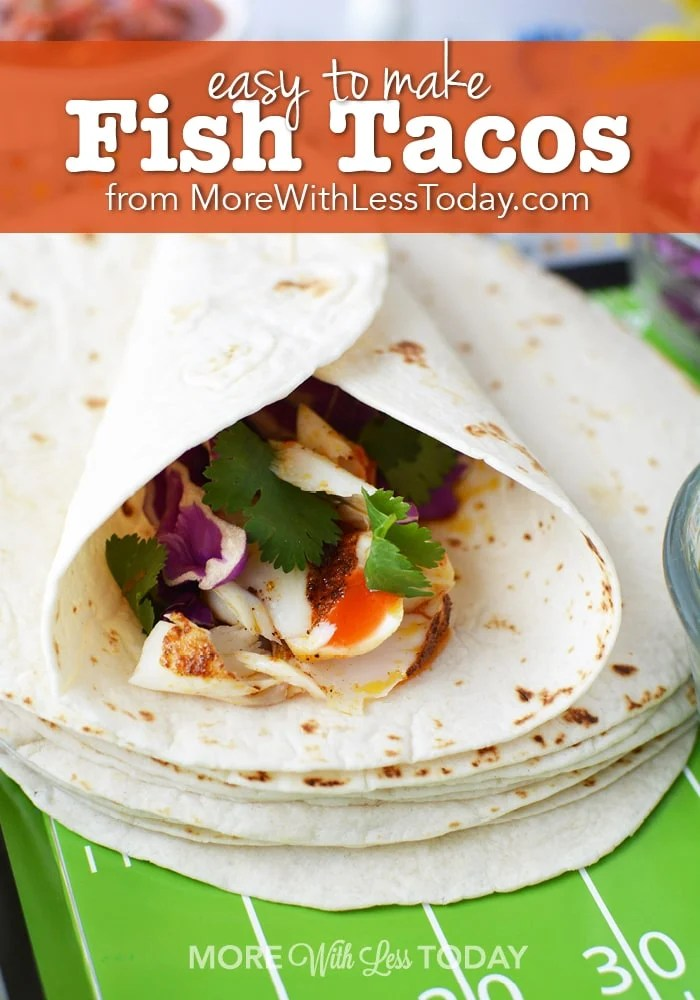 Easy to make fish tacos a lightened up recipe for Make fish tacos