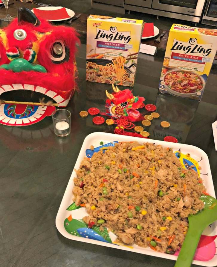 Ling Ling products for Chinese New Year celebration