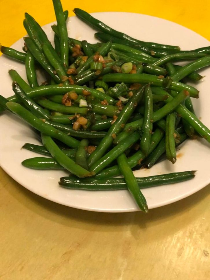 Chinese New Year menu green beans cooking tips with Chef Katie Chin