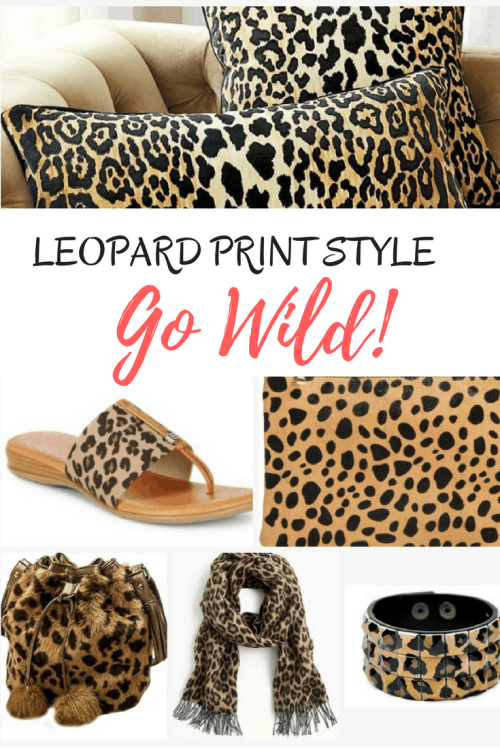 Leopard Print Fashion and Decor – Animal Print Never Goes Out of Style