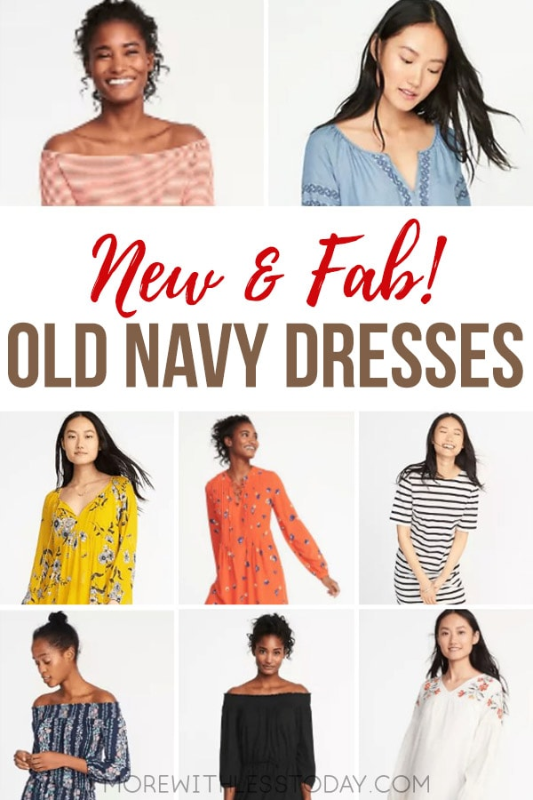 These Old Navy Affordable Casual Dresses are so pretty! If you are looking for an inexpensive sundress or warm weather dress, be sure to see what is new at Old Navy!