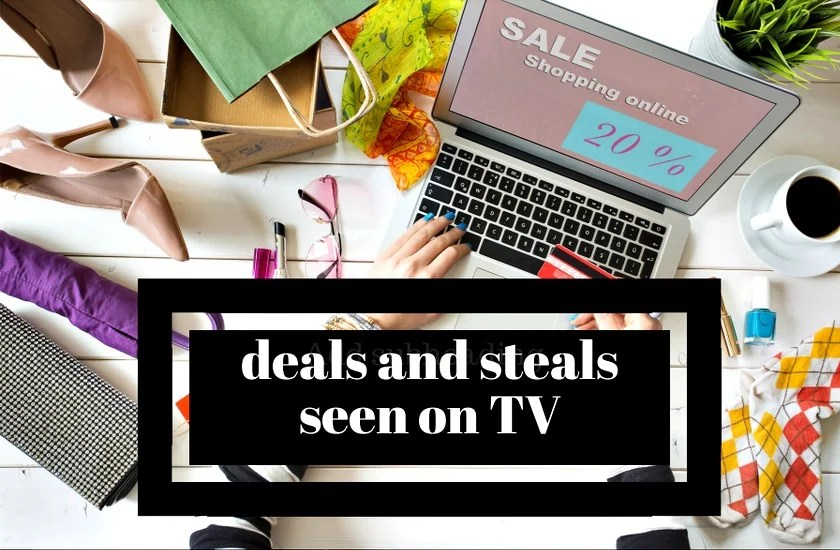 Are you looking for Today's Deals and Steals from The Talk - Save the Day Shop Daytime Deals? We share them along with the best deals and steals from our favorite TV shows.Don't miss out!