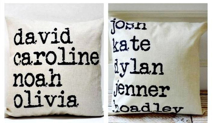 How adorable are these Personalized Farmhouse Style pillow covers? You can enter up to 6 names for your custom pillow cover. Grab them while they are 72% off and on sale for only $13.99 (regular price $49.99)