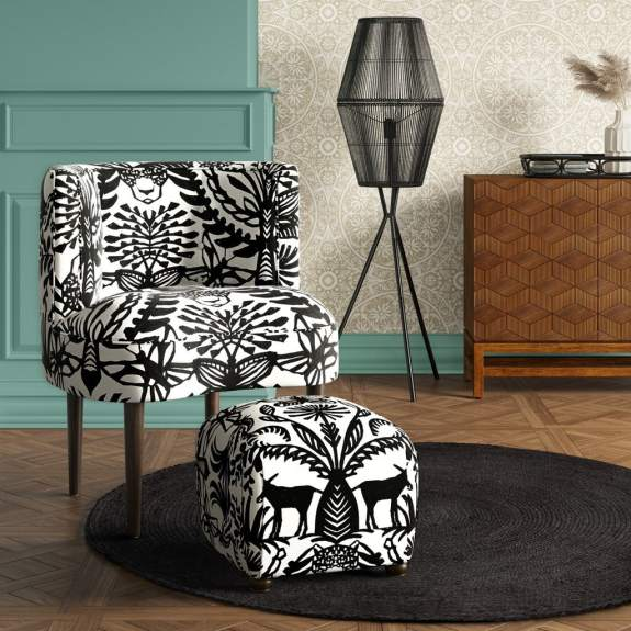 Clary Curved Back Accent Chair - Opalhouse™ at Target