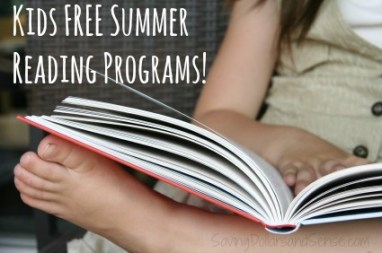 Free Summer Reading Programs for Kids From Barnes and Noble, Chuck E. Cheese and More!