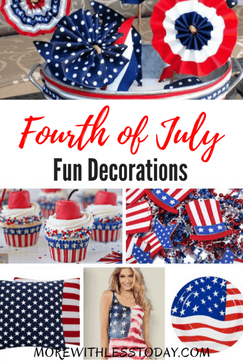 4th of July Home Decorating Ideas – Red White and Blue Patriotic Decor