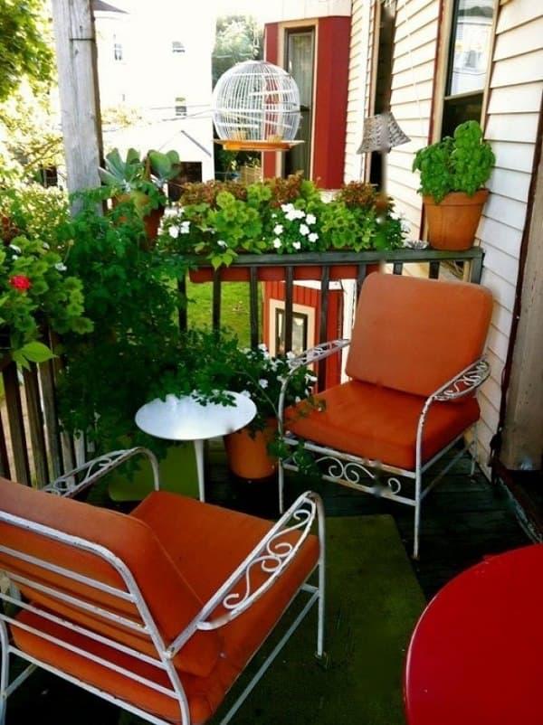 Merveilleux 4 Small Apartment Balcony Garden Ideas