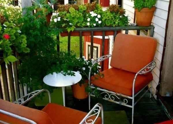 4 Small apartment balcony garden ideas - MORFLORA