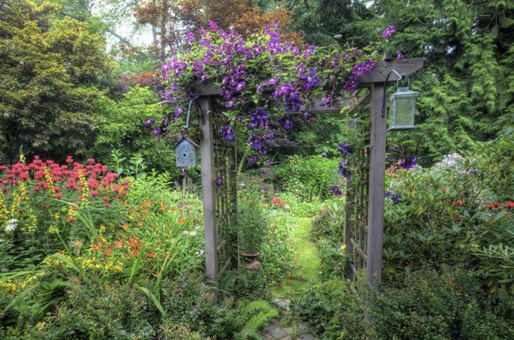 13 Garden Arbor Ideas To Complete Your Garden Aesthetic Morflora