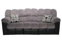 Gray Recliner Sofa Mitchiner Reclining Sofa With Drop Down ...