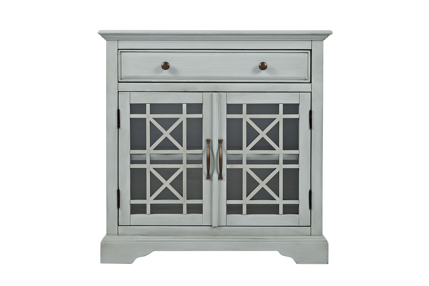 Skyy Grey Small Media Cabinet  Mor Furniture for Less