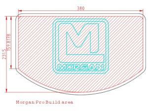 Morgan Pro build area diagram