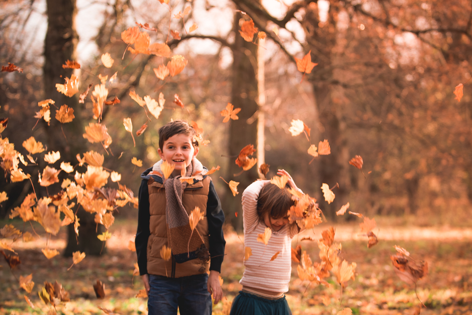 // Golden light, happy family photography perfection