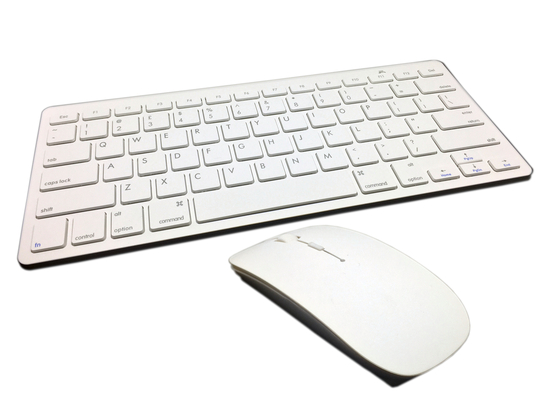 Buy Apple Compatible Wireless Keyboard & Mouse Set White