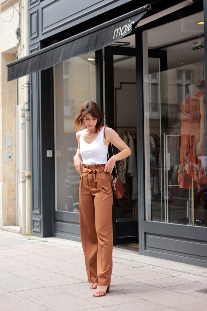 look mode printemps bordeaux