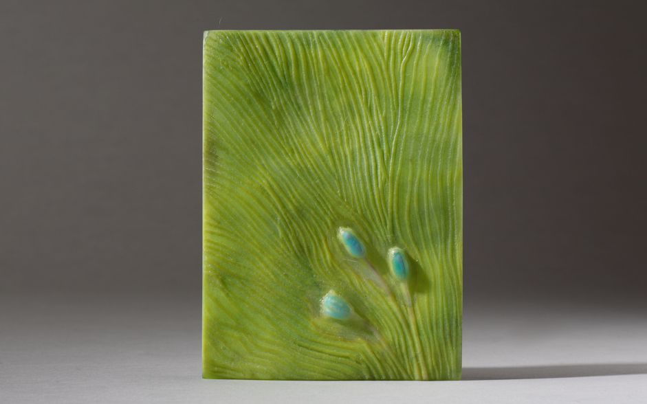Pate de verre: The garden panels project I - Morganica