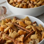 Garlic Parmesan Chex Mix