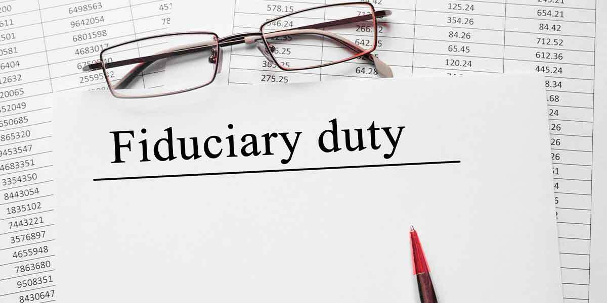 Breach of fiduciary responsibility