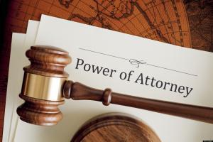 Lawyer for power of attorney