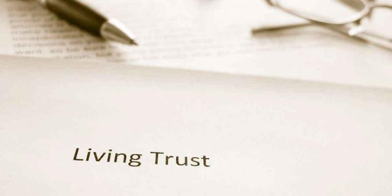 Living trust as an essential estate document.