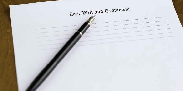 What happens when you die without leaving behind a Will
