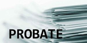 What happens when the executor refuses to go through probate?