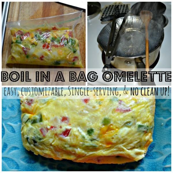 Boil in a Bag Omelettes