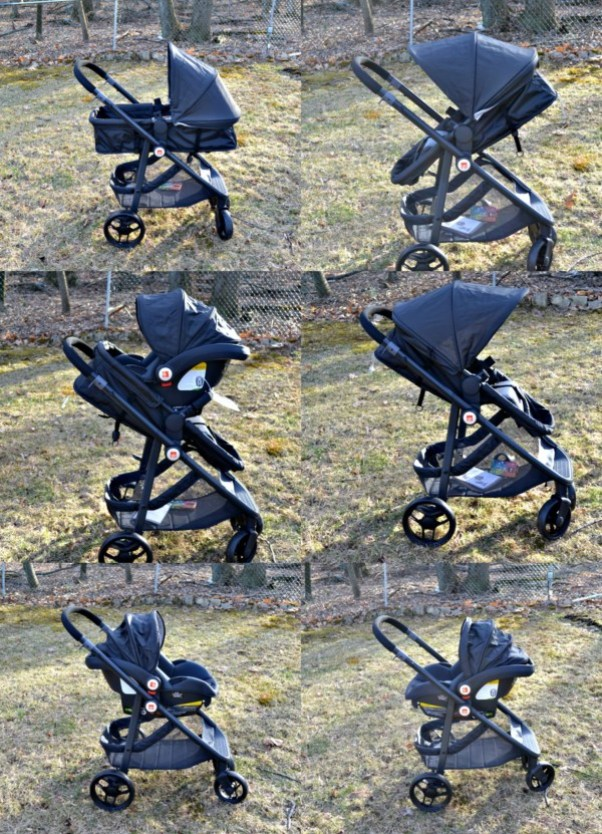 "The GB Lyfe Travel is the perfect way to get ready for having 2 under 2 - a stroller for multiple ages! This stroller can be used so many different ways, from a European style pram to ""Toddle Mode""."