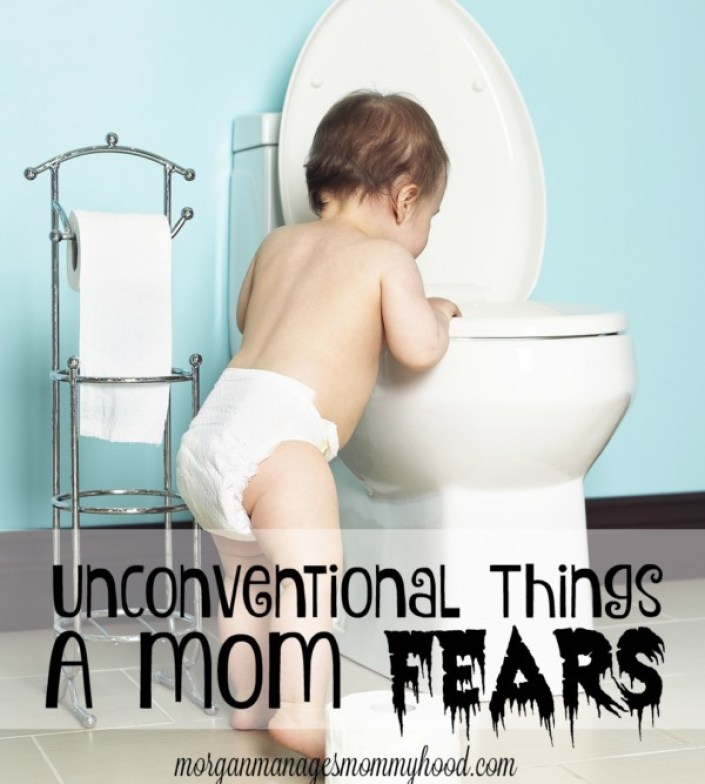 Moms fear everything from day one. Read this hilariously read post on the more unconventional mom fears!