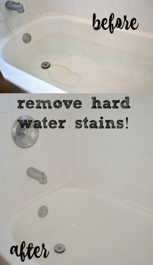 The Crazy Easy Way to Remove Hard Water Stains - Morgan Manages ...