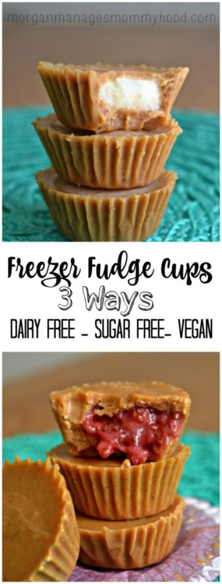 These freezer fudge cups are completely customizable and can be sugar-free if you choose! Made with simple, whole ingredients, you'll be happy to share these with your whole family as a healthier alternative to a treat! (or you might just want to keep them all to yourself!) Read on to learn how to make these tasty treats!