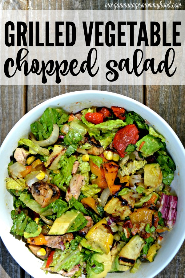 Looking for the perfect summer salad? Check out this perfect Grilled Vegetable Chopped salad which creates the perfect bite each and every time.