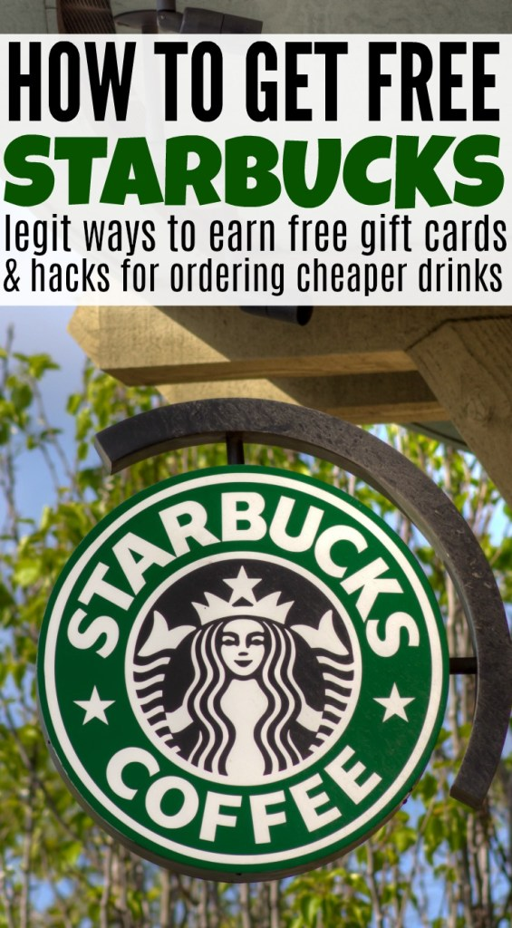 free starbucks, starbucks hacks, how to get free starbucks, cheaper starbucks, starbucks ordering hacks, free starbucks gift cards