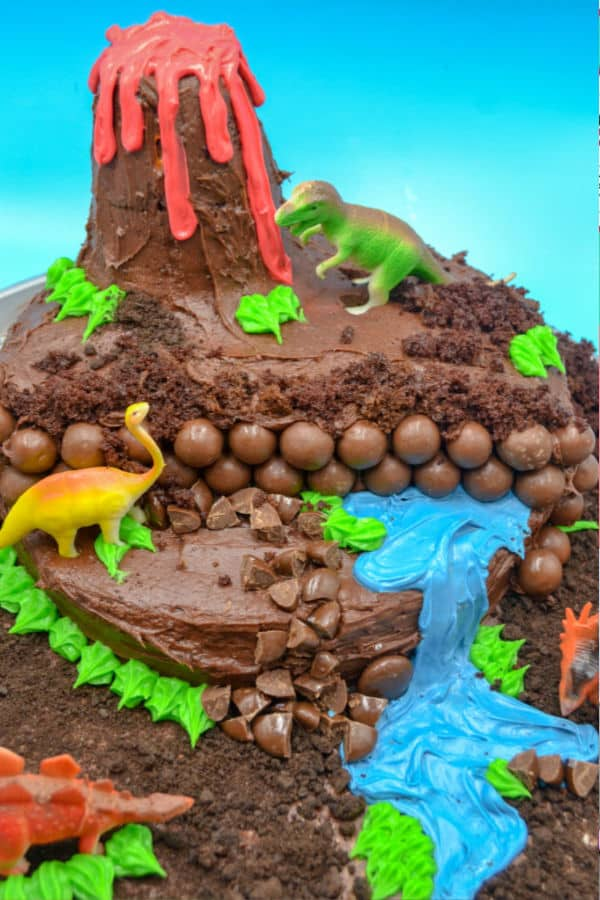 Superb Homemade Dinosaur Birthday Cake Morgan Manages Mommyhood Funny Birthday Cards Online Alyptdamsfinfo