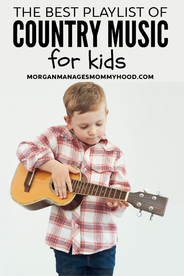 35+ Country Songs for Kids - clean country music playlist -
