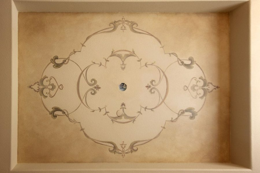 Ornamental Ceiling Desig for Private Residence